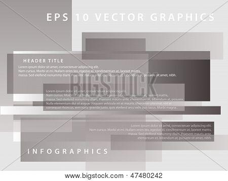 Gray Minimalistic Blocks Background