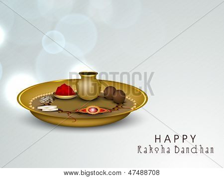 Indian festival Rakshabandhan background