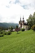 Sinaia - Scene With Old Castle poster