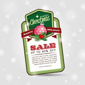 picture of year end sale  - Christmas Sale Tag - JPG