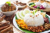 image of malaysian food  - Nasi lemak - JPG