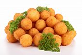 picture of dauphin  - isolated dauphine potato - JPG