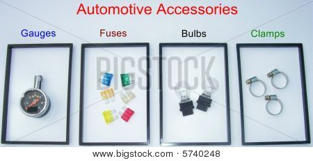 Automotive Accessories Sign