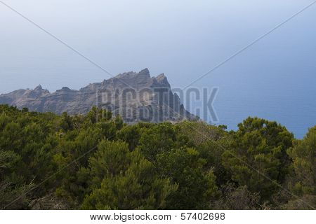 Landscape on La Gomera