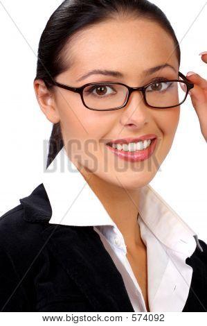 Businesswoman. Frau in der Wirtschaft.