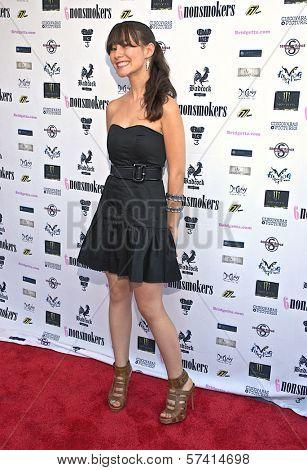Jenna St. John at a screening of