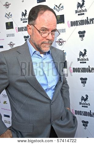 Jim Murphy at a screening of