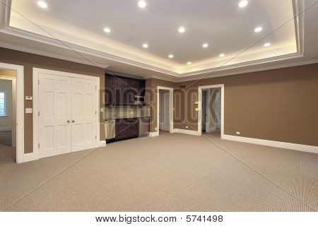Basement In New Construction Home