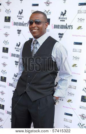 Demetrius Parker  at a screening of
