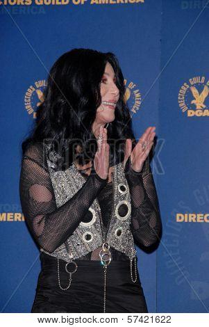 Cher  at the 62nd Annual DGA Awards - Press Room, Hyatt Regency Century Plaza Hotel, Century City, CA. 01-30-10