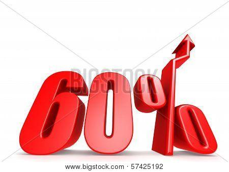Up 60 percent