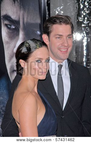 Emily Blunt and John Krasinski  at