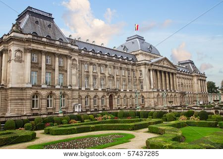 The Royal Palace of Brussels