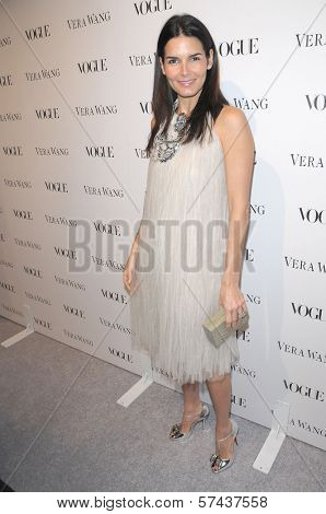 Angie Harmon at a Vogue Dinner Honoring Vera Wang, Vera Wang Store, Los Angeles, CA. 03-02-10