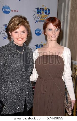 Gloria Allred and Joslyn James at the 2010 Night of 100 Stars Oscar Viewing Party, Beverly Hills Hotel, Beverly Hills, CA. 03-07-10