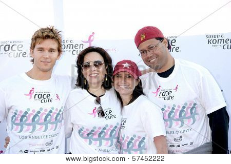 Ryan Kwanten at the 14th Annual Susan G. Komen LA County Race for the Cure, Dodger Stadium, Los Angeles, CA. 03-14-10