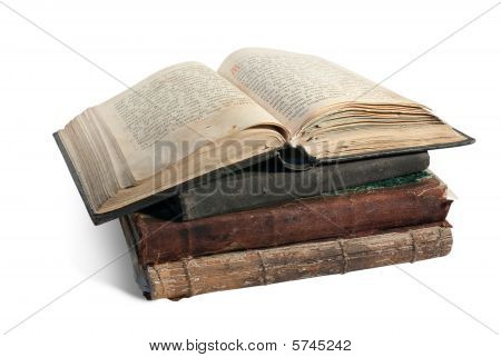The Old Opened Book Is Christian Psalter