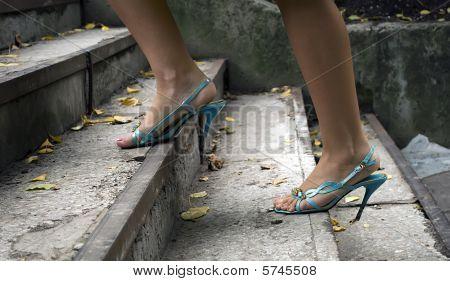 Feet Of The Girl