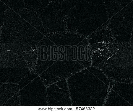 Black texture with cracks