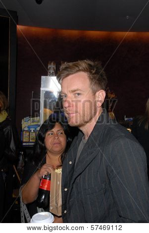 Ewan McGregor at the Los Angeles Premiere for