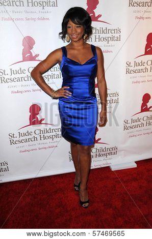 Monique Coleman  at the St. Jude's