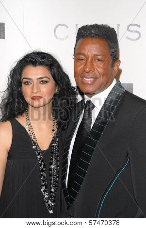 Jermaine Jackson at the introduction of the Chris ire