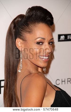 Melyssa Ford at the introduction of the Chris ire