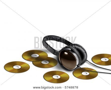 Headphone and DVD