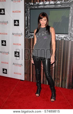 Jessica Sutta at the MAXIM magazine and Ubisoft launch of Assassin's Creed II, Voyeur, West Hollywood, CA. 11-11-09