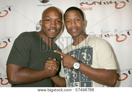 Ray Stoney and Lazrael Lison at the