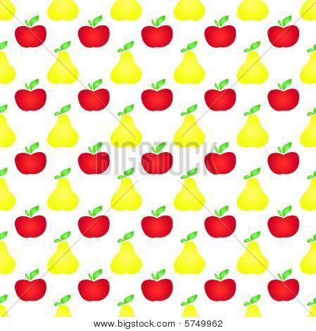 Fruit seamless background