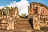 stock photo of polonnaruwa  - Ruins ancient temple of Polonnaruwa in Sri Lanka  - JPG