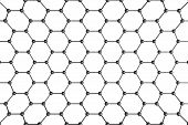 stock photo of graphene  - Structural Mesh - JPG