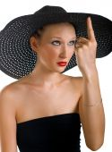 Ridiculous Women In Black Hat