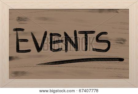 Events Concept