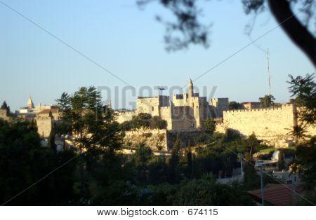 David tower in jerusalem
