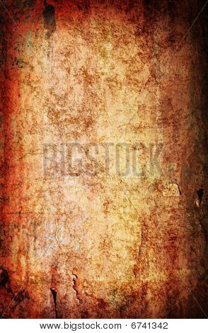 Grunge Rusted Metal Background Texture