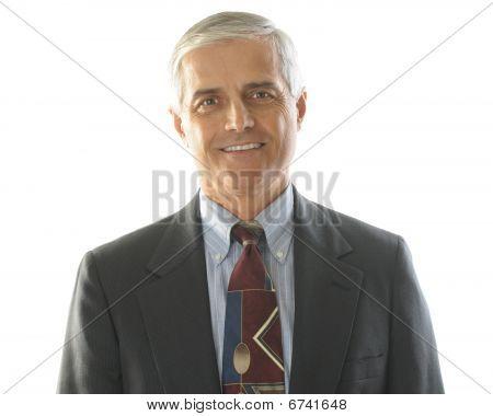 Middle Aged Businessman Portrait