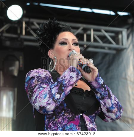 Mistress of Ceremonies Michelle Visage