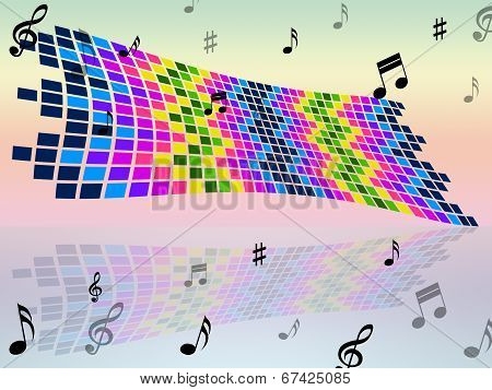 Notes Color Indicates Sound Track And Artwork