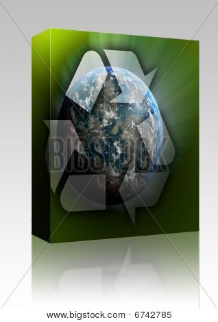 Recycling Planet Earth Box Package