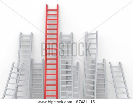 Up Ladders Overcome Obstacles