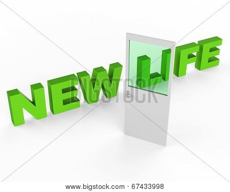 New Life Shows Start Again And Door