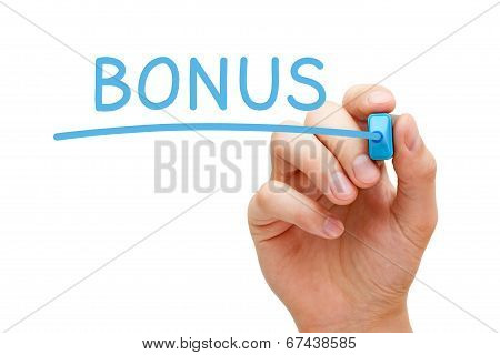 Bonus Blue Marker
