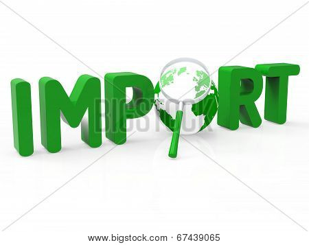 Import Worldwide Means Buy Abroad And International