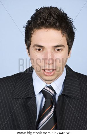 Shocked Business Man