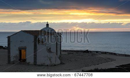 Iglesia De Nossa Senora Graca, Fortaleza De Sagres, Portugal