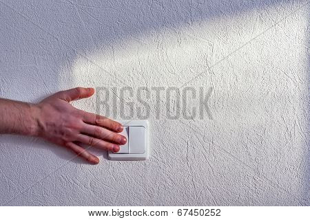 Turning light switch