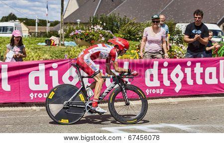 The Cyclist Joan Horrach
