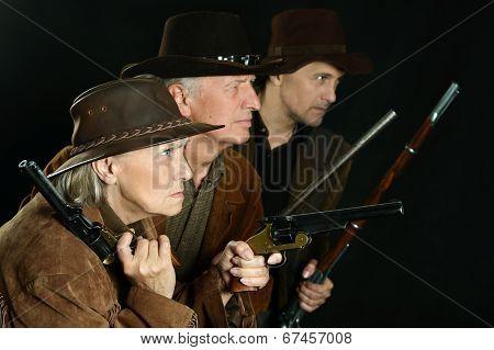 Wild west bandits